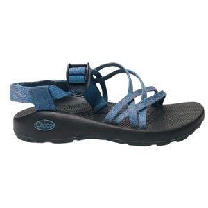 Chaco ZX1 braid blue classic sport sandals sz 7